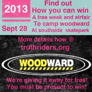 Free Trip too Camp Woodward with Air fair