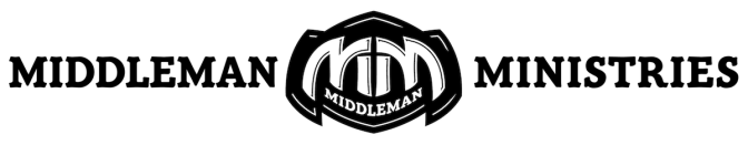Middle man logo